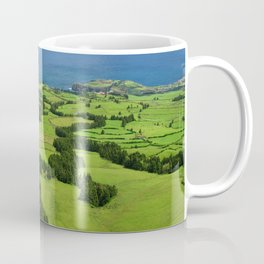 Typical Azores landscape Coffee Mug