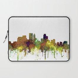 Minneapolis, Minnesota Skyline SG - Safari Buff Laptop Sleeve