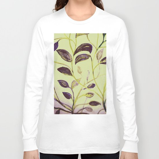 Fall Cool Nights with the Large Moon Long Sleeve T-shirt