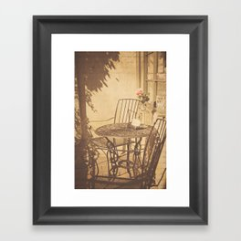 Parisian Chic Framed Art Print