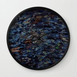 Blue Scale Wall Clock