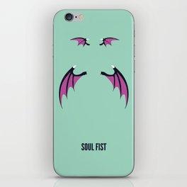 Morrigan - Soul Fist iPhone Skin
