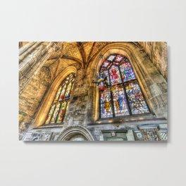 St Giles Cathedral Edinburgh Metal Print