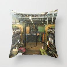 Loom ing Throw Pillow