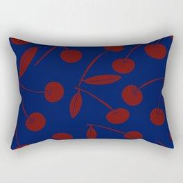 Red Cherries Rectangular Pillow