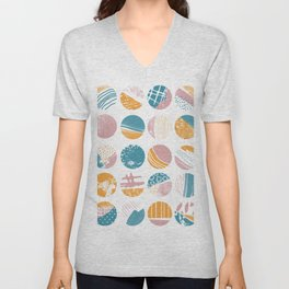This and That   Patterns and Texture Unisex V-Neck