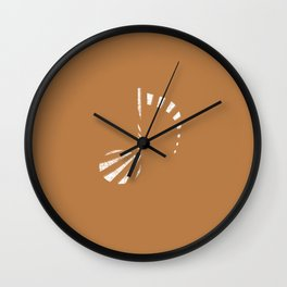 Music Note (striped) Wall Clock