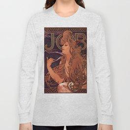 Alphonse Mucha Art Nouveau Long Sleeve T-shirt
