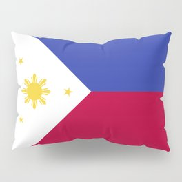 Philippines flag emblem Pillow Sham