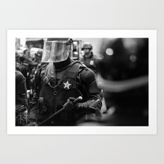 Swat Patrol Art Print