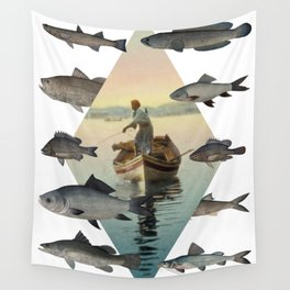 The old man and the sea Wall Tapestry