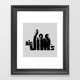 THE BIG JIM'S Framed Art Print