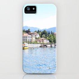 Lake Como, Italy #society6 #decor #buyart iPhone Case