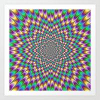 bender Art Prints featuring Eye Bender by Objowl