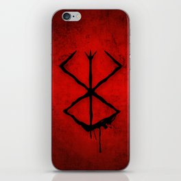 The Berserk Addiction iPhone Skin