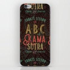 Kama Sutra Lessons iPhone & iPod Skin