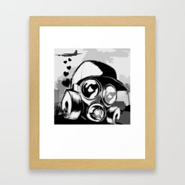 Luv Is In the Air... Framed Art Print