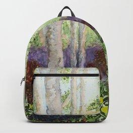 Birch Trees in Heaven Backpack