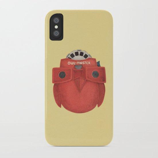 Owl-Master iPhone Case