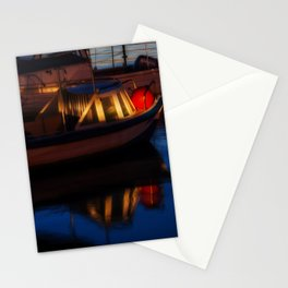 Sunset on the turkish aegean sea Stationery Cards