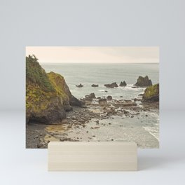 Ecola Point, Oregon Coast, hiking, adventure photography, Northwest Landscape Mini Art Print