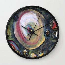 Blue Trials Wall Clock