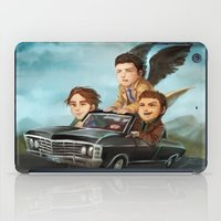 supernatural iPad Cases featuring Supernatural by RAVEFIRELL