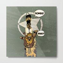 Bombs Away  Metal Print