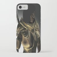 skyrim iPhone & iPod Cases featuring Skyrim Armor by J.A.C