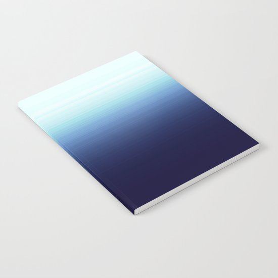 Nautical Blue Ombre Notebook
