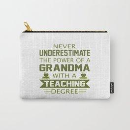 Grandma Teacher Carry-All Pouch