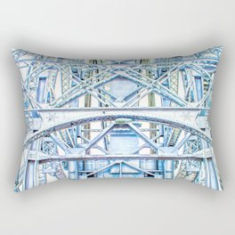 Lift Bridge Rectangular Pillow