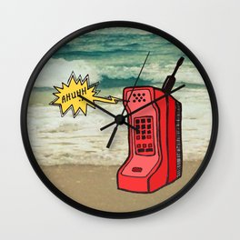 A Necessity of Modern Life Wall Clock