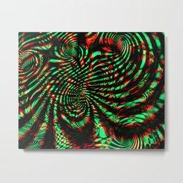 Blind Trip A Metal Print