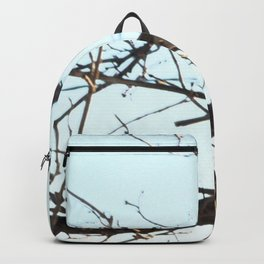 Isolated Little Chickadee Backpack
