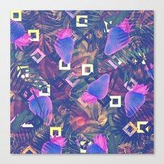 Fluorescent Vibe Canvas Print