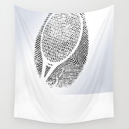 Fingerprint of a player Wall Tapestry