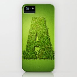 Letter A - 1 iPhone Case