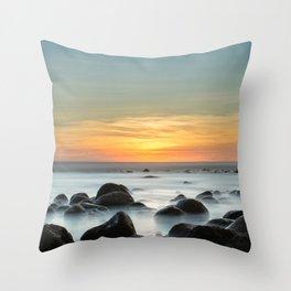 Sunset Zonte Throw Pillow