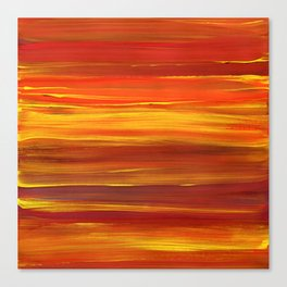 Sunset stratum Canvas Print