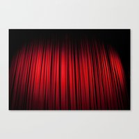theatre Canvas Prints featuring Theatre  by KClark Photography