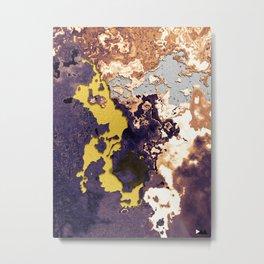Mixture of minerals Metal Print