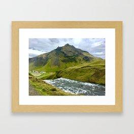 Mountain Framed Art Print