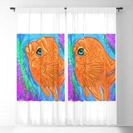 Gorgeous Garibaldi Fish Blackout Curtain