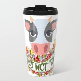 COW, FRIENDS NOT FOOD Travel Mug