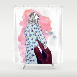 Dream On. Shower Curtain