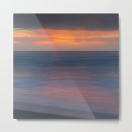A Late Summer's Goodnight Metal Print