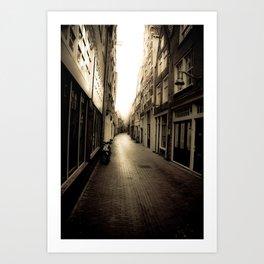 The Light Art Print