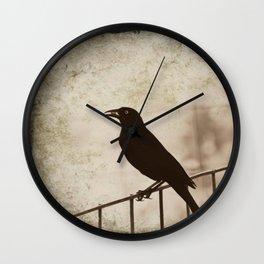 Blackbird 1 Wall Clock