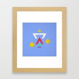 S H A P E S Framed Art Print